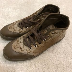 AUTHENTIC GUCCI SNEAKERS - SIZE 36.5